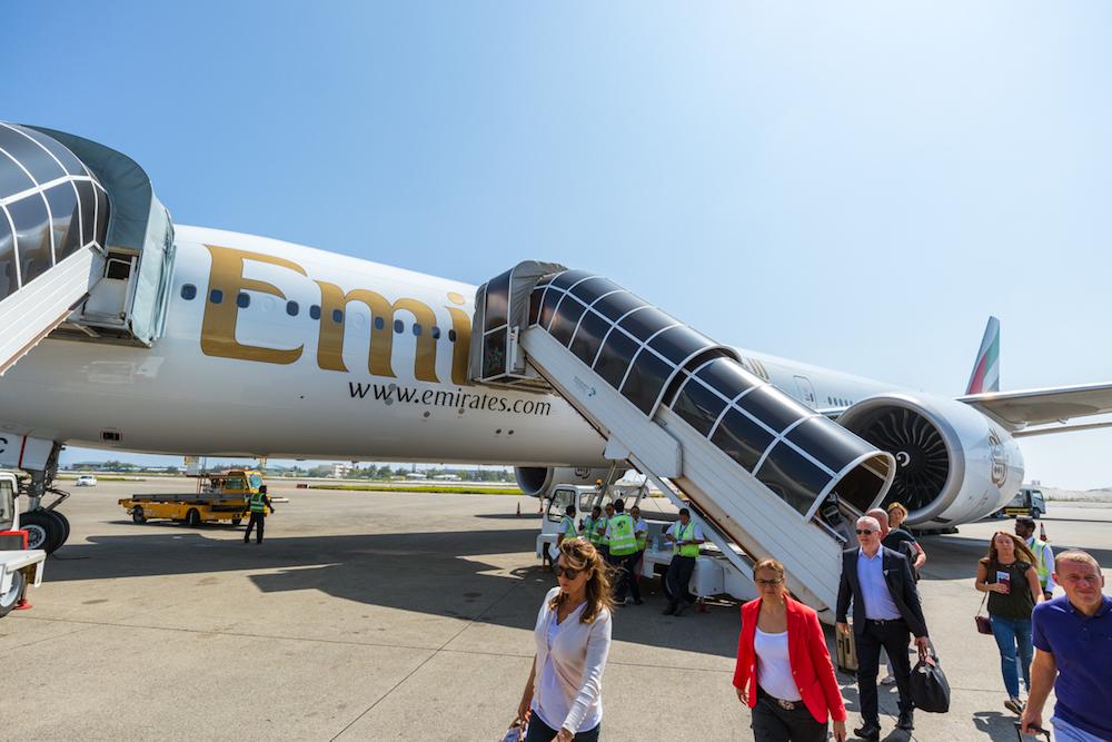 Emirates Boeing 777-300ER exterior