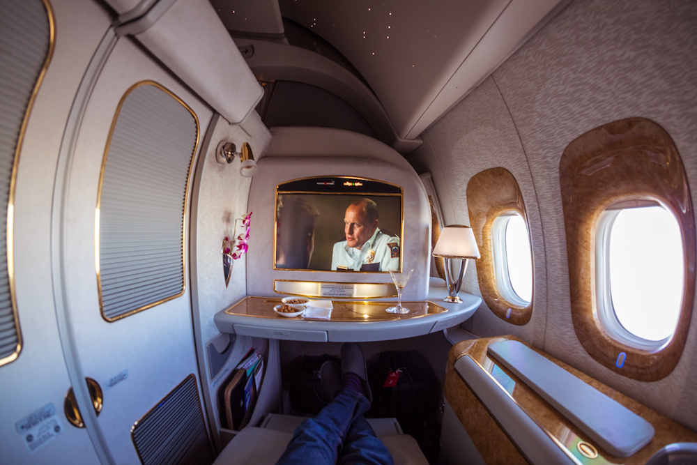 Emirates 777 First Class suite