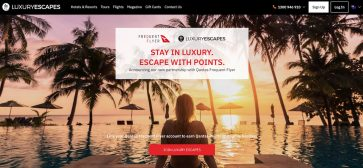 Spend $350 or more, get $60 back at Luxury Escapes with American Express