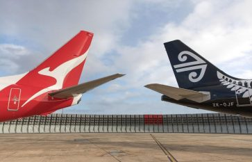 Qantas and Air NZ cosy up with a domestic codeshare