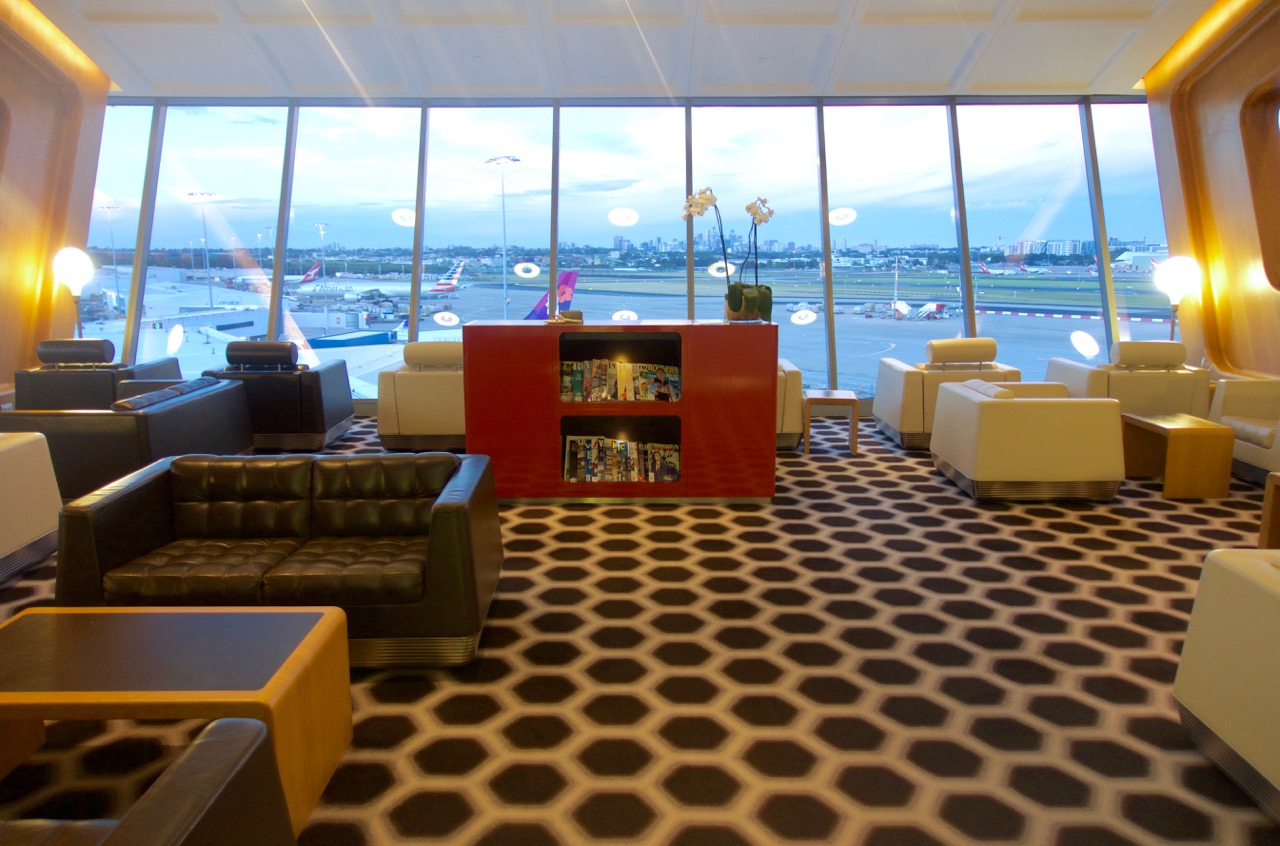 Qantas International First Class Lounge Sydney