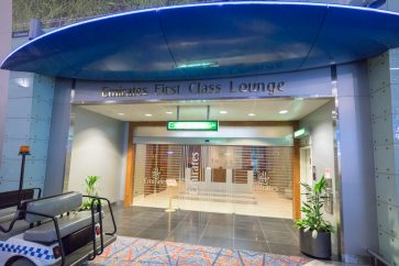 Emirates First Class Lounge Terminal 3 Concourse C Dubai overview