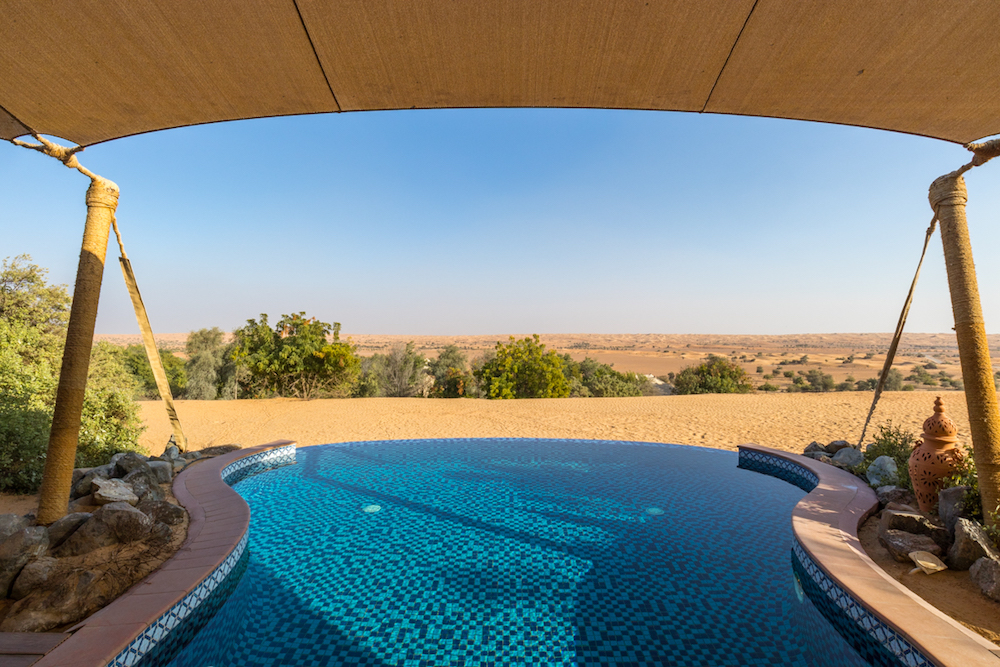 Al Maha, a Luxury Collection Desert Resort & Spa, Dubai - The Bedouin Suite plunge pool