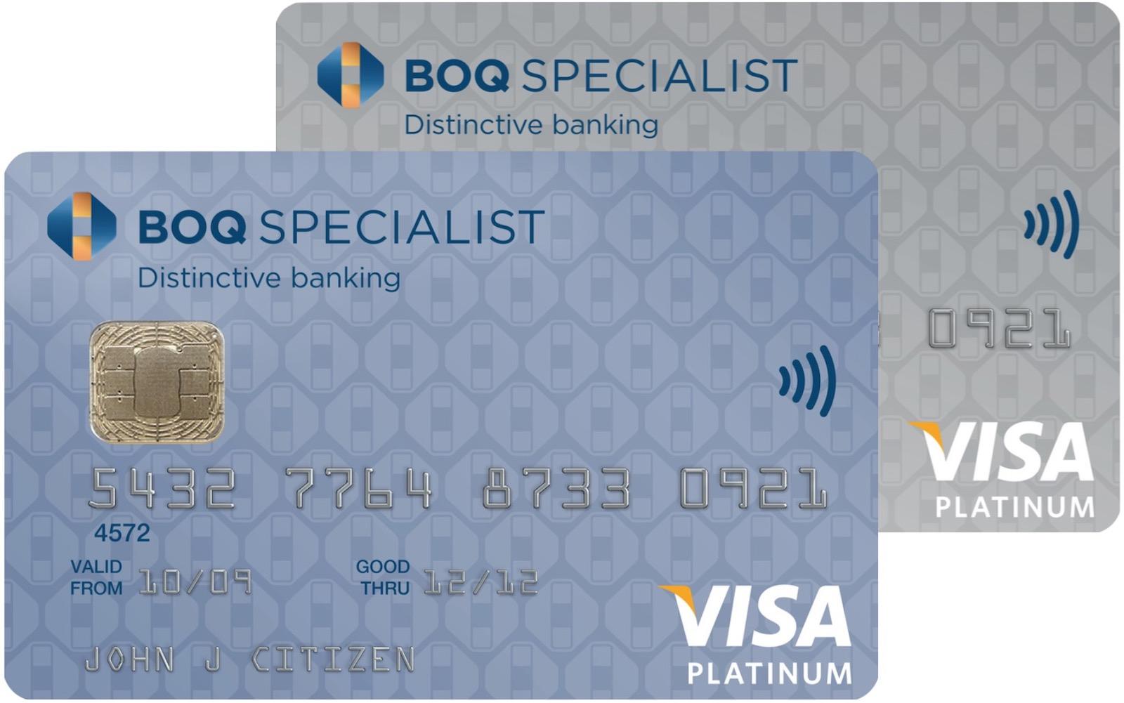 BOQ Specialist Platinum cards | Point Hacks