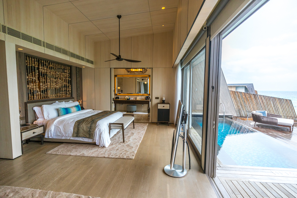 The St. Regis Maldives Vommuli Resort - Overwater Villa