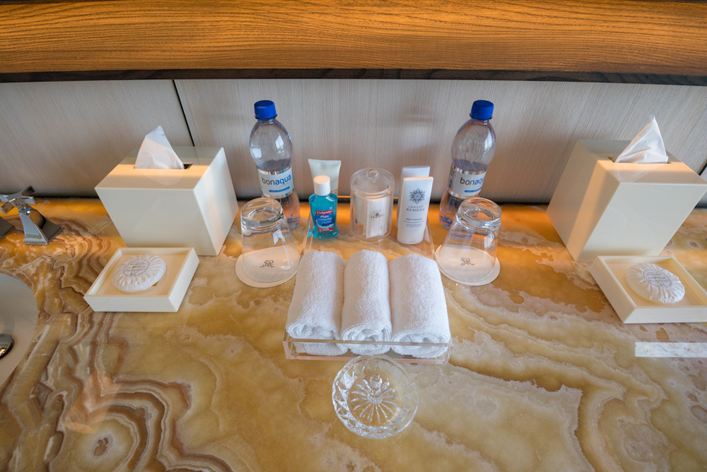 The St. Regis Maldives Vommuli Resort - Overwater Villa Remedè toiletries