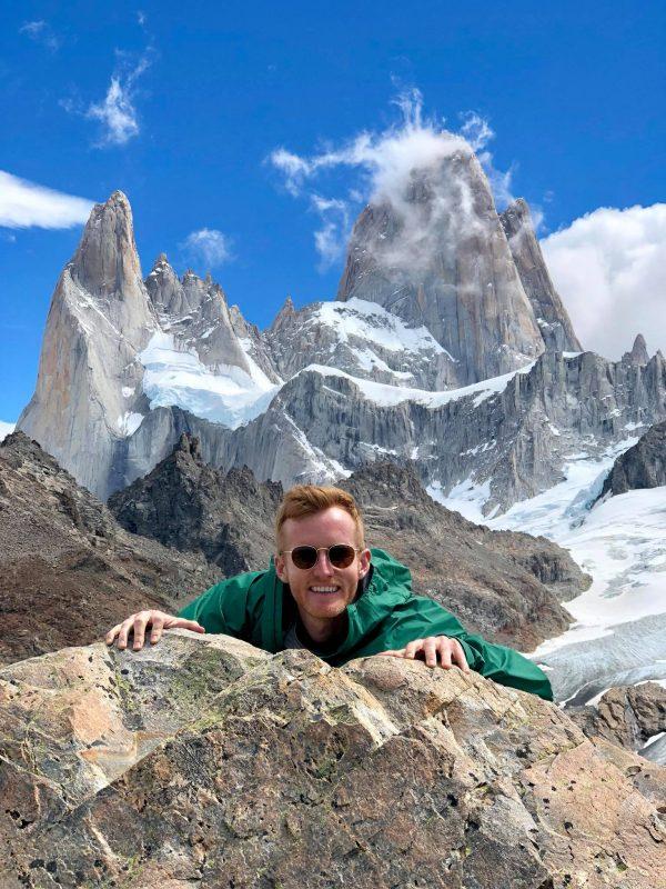 Matt in Cerro Fitz Roy in Argentinian Patagonia