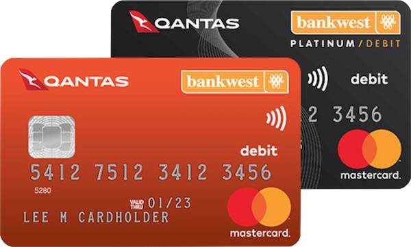 Bankwest Qantas Transaction account card | Point Hacks