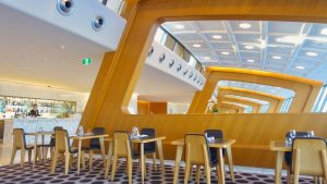 Qantas International First Lounge Sydney overview