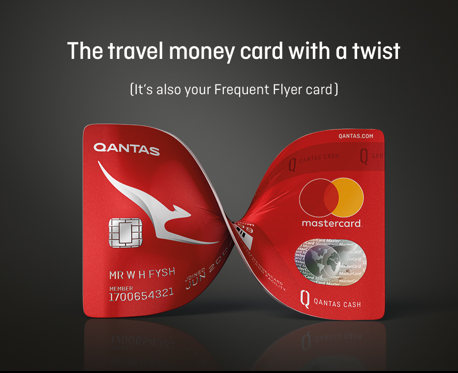 qantas travel card Qantas cash