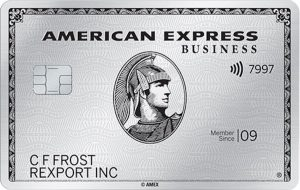 200,000 bonus Membership Rewards points with the American Express Platinum Business Card