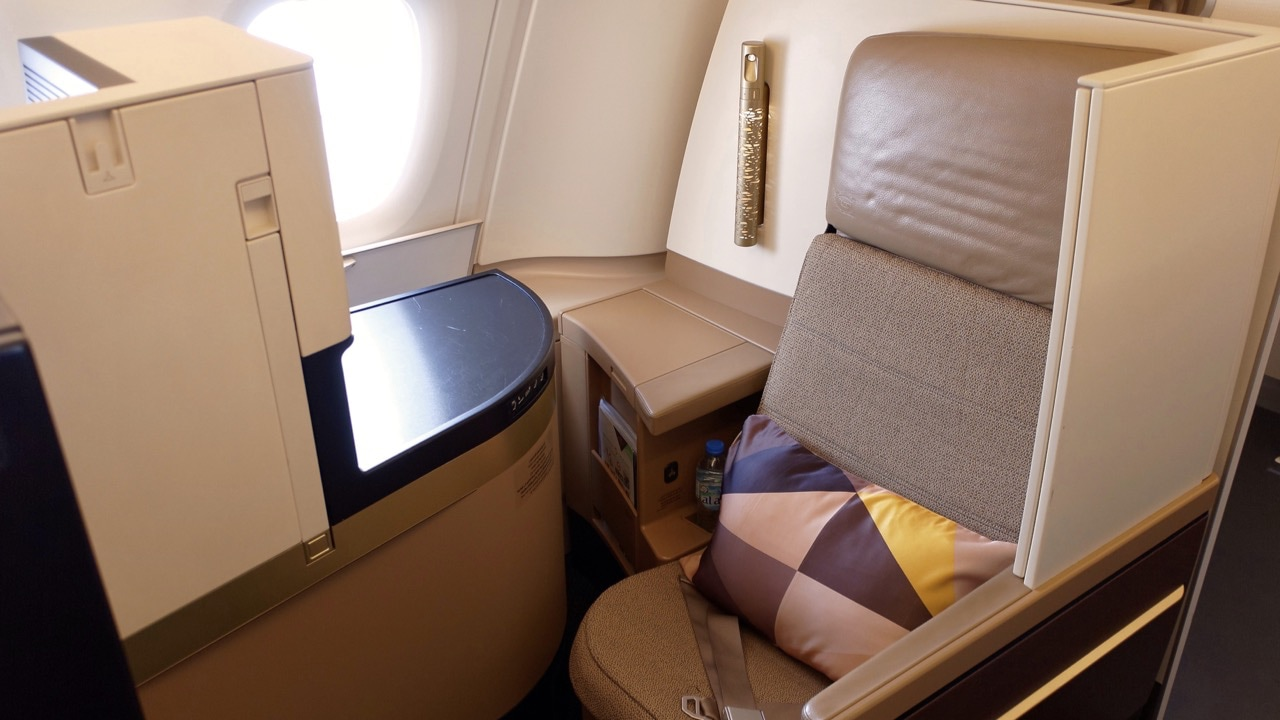 Etihad Airways A380 Business Studios