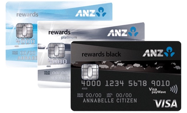 ANZ Rewards card