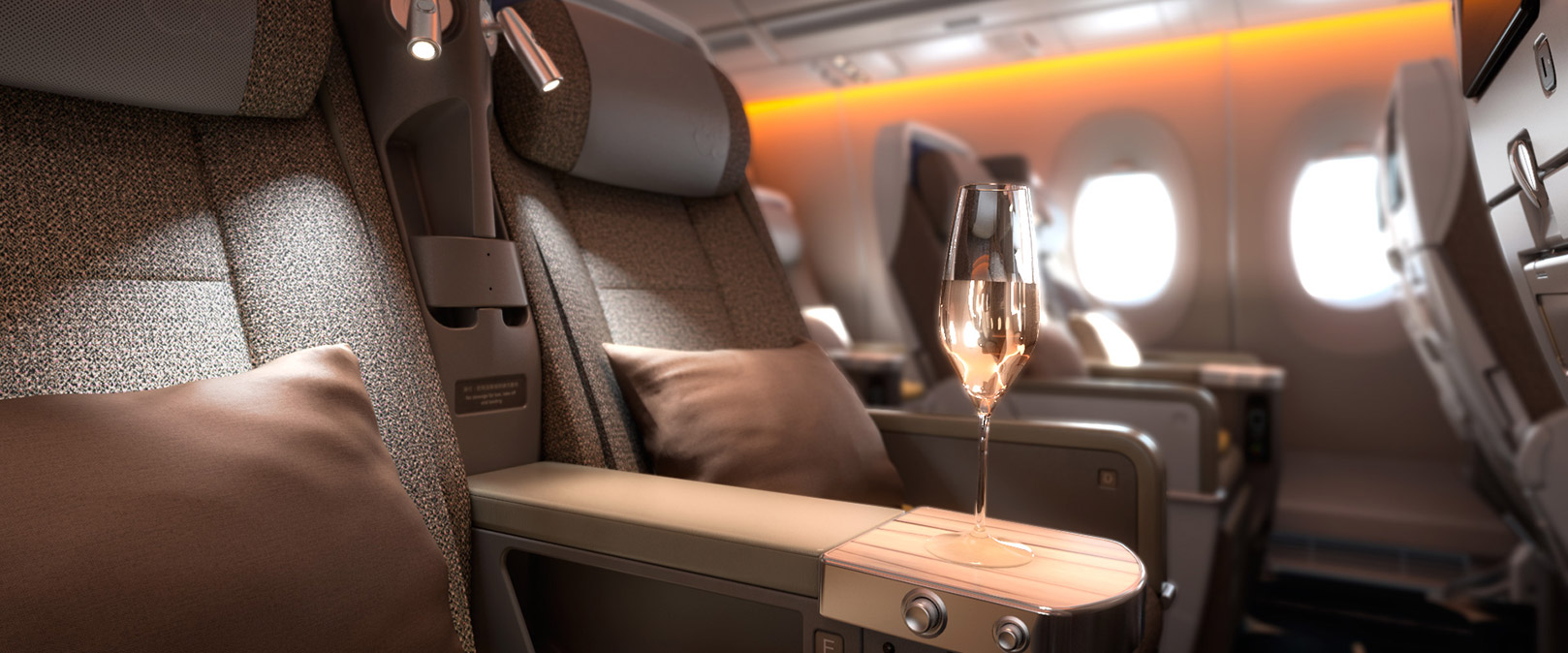 China Airlines Premium Economy official photo