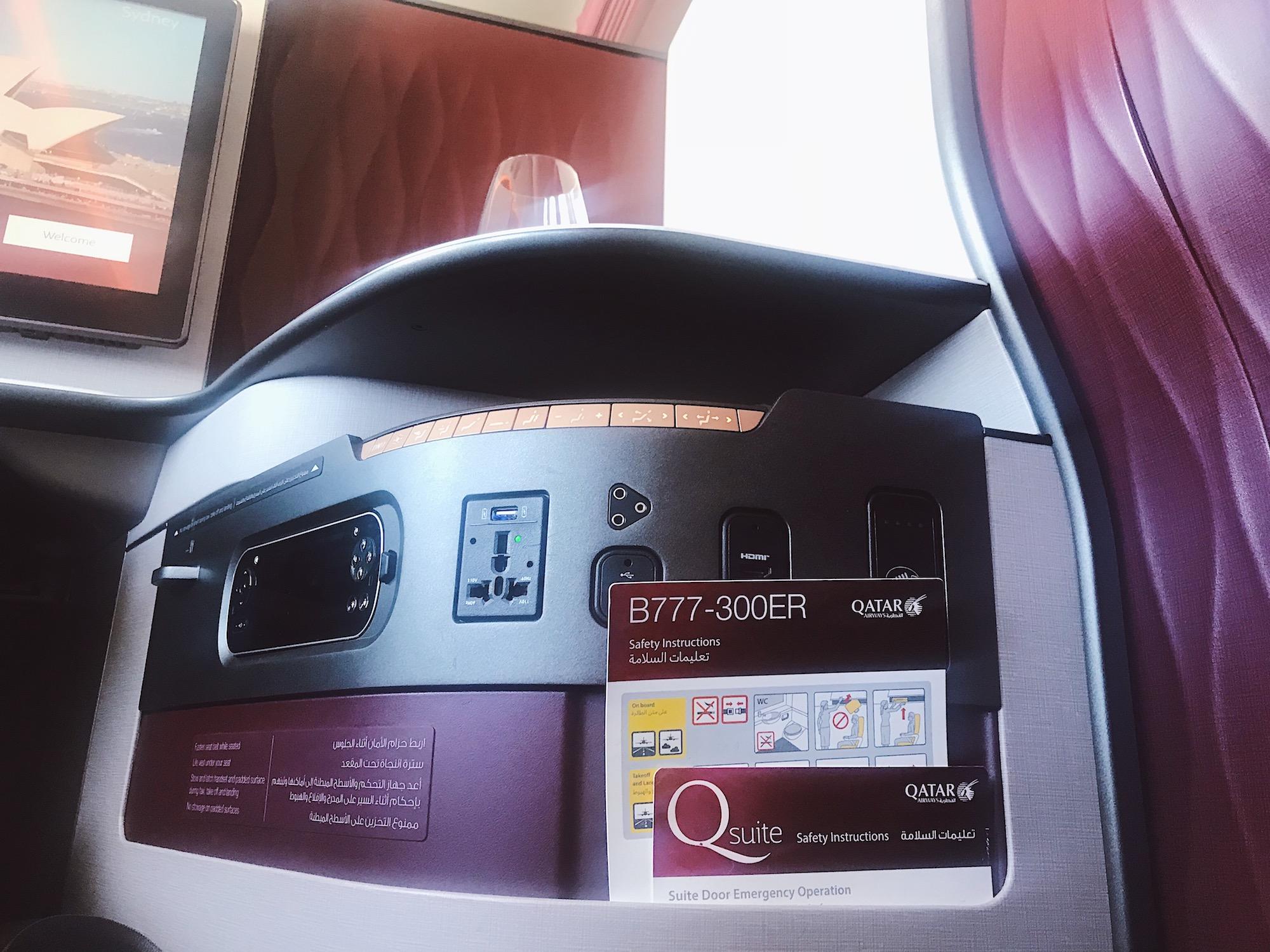 Qatar 777-300ER QSuites