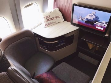 Fly to Europe in Qatar Airways Business Class from $5479 return and earn Gold status in one trip