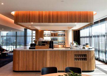 Qantas Domestic Business Lounge Brisbane overview