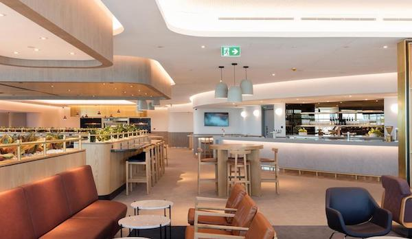 Brisbane Qantas Domestic Business Lounge