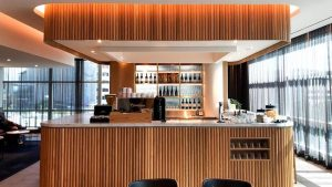 Qantas Domestic Business Lounge Brisbane overview