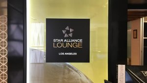 Star Alliance Business Class Lounge Los Angeles overview