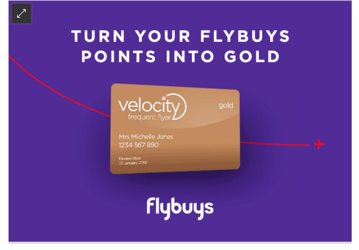 flybuys VA Gold promo