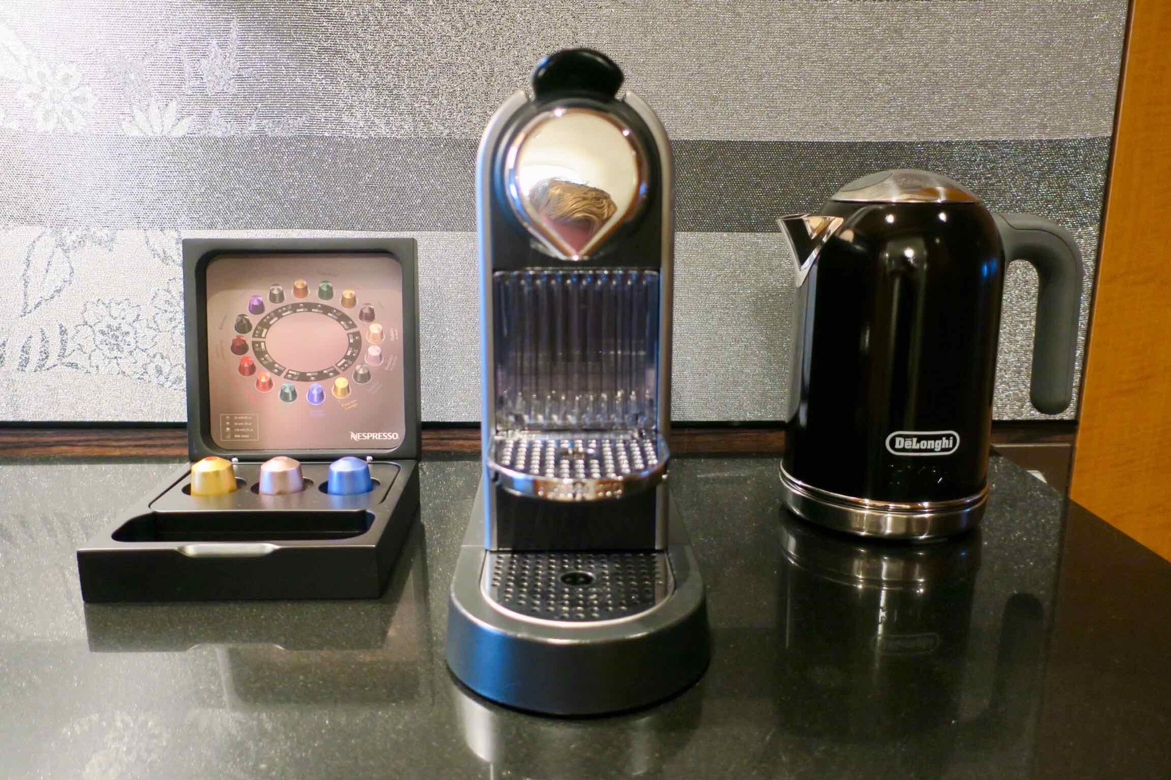 The Ritz-Carlton, Tokyo Nespresso machine