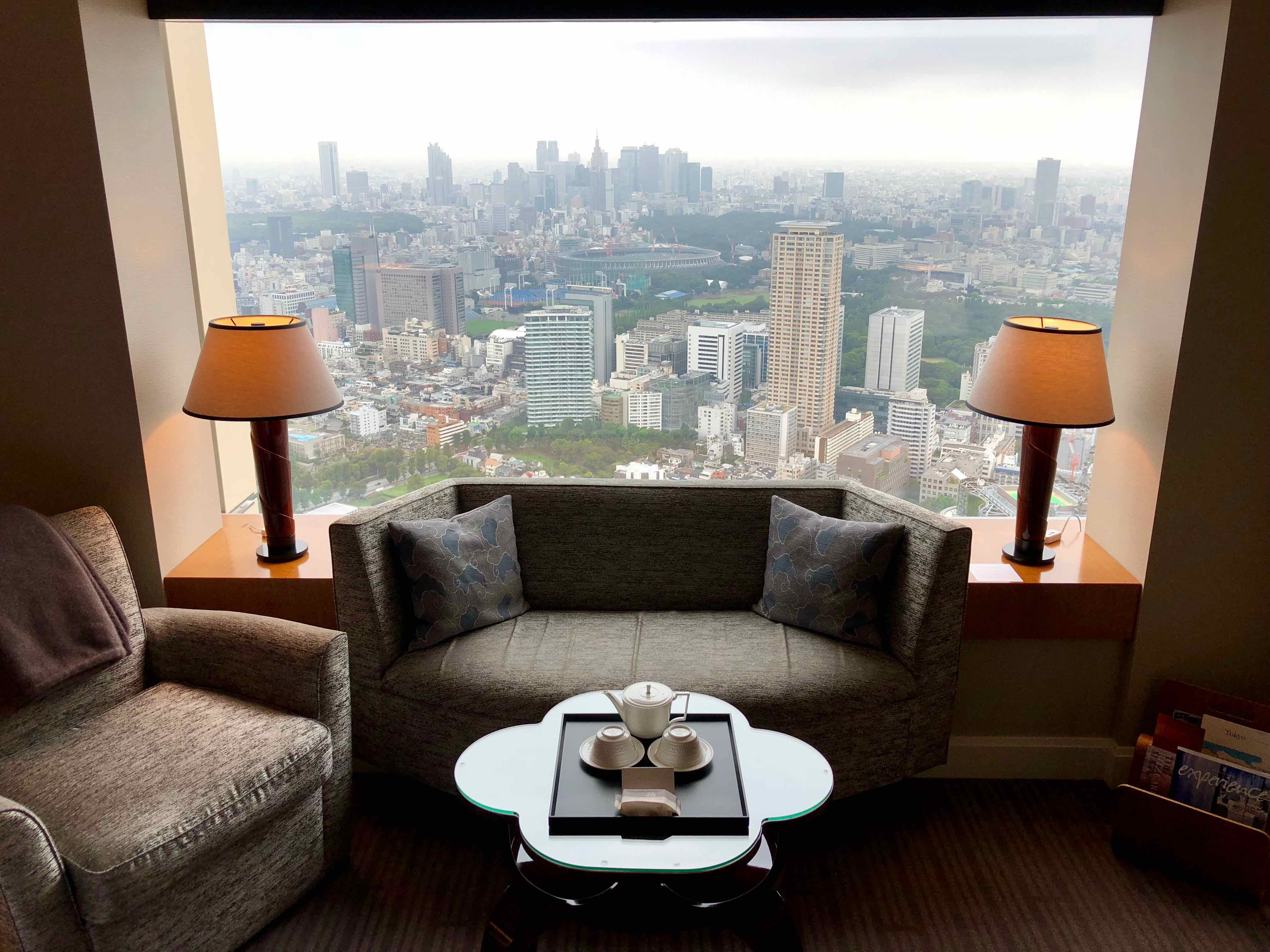 View from The Ritz-Carlton, Tokyo