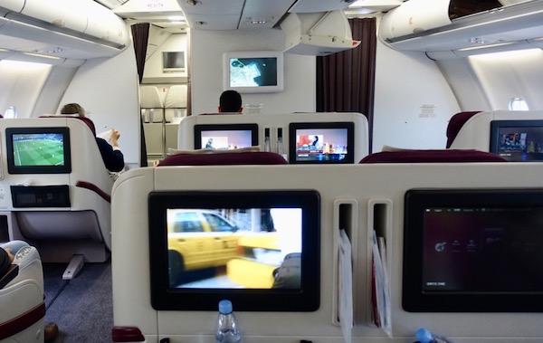 Qatas A330-200 Business Class