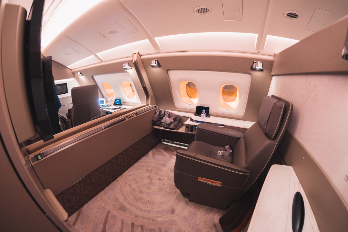 Singapore Airlines A380 (new) First Class Suites