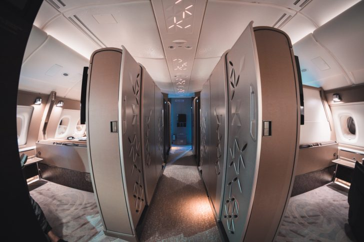 Singapore Airlines A380 First Class Suite   Point Hacks