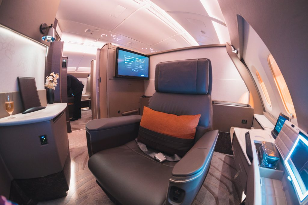 Singapore Airlines A380 Suites Class seat