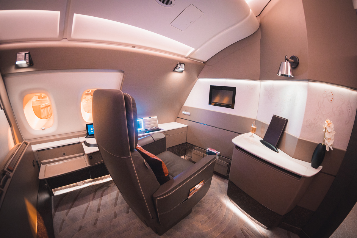 Singapore Airlines A380 Suites Class