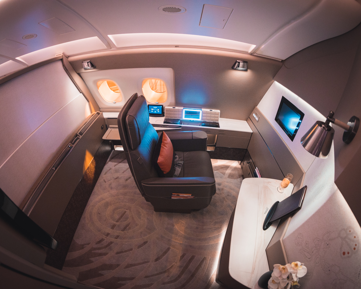 Singapore Airlines A380 First Class Suite | Point Hacks