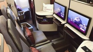 Qatar Airways Qsuite Business Class overview