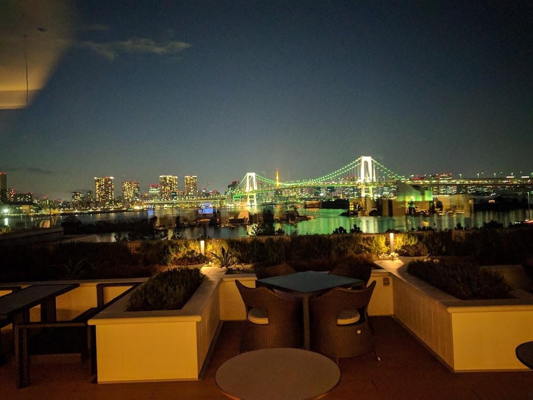 Hilton Tokyo Bay view