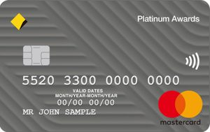 Platinum Awards Card