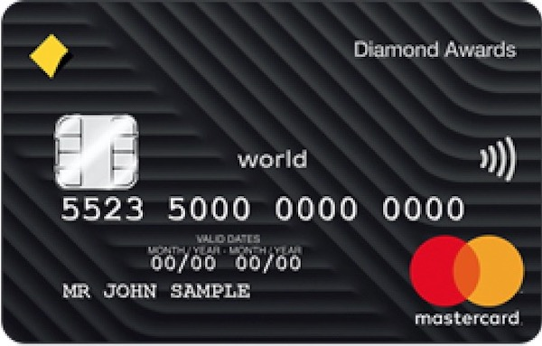 Commbank Diamond Awards card | Point Hacks