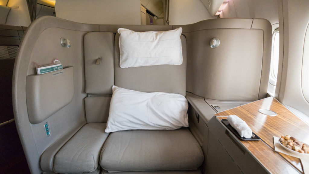 Cathay Pacific CX-777 First Class seat