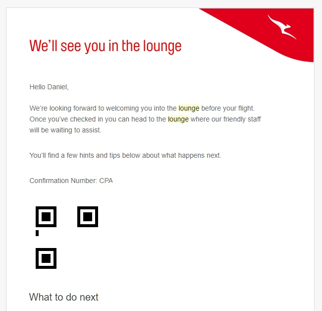 How to use Qantas digital lounge pass | Point Hacks