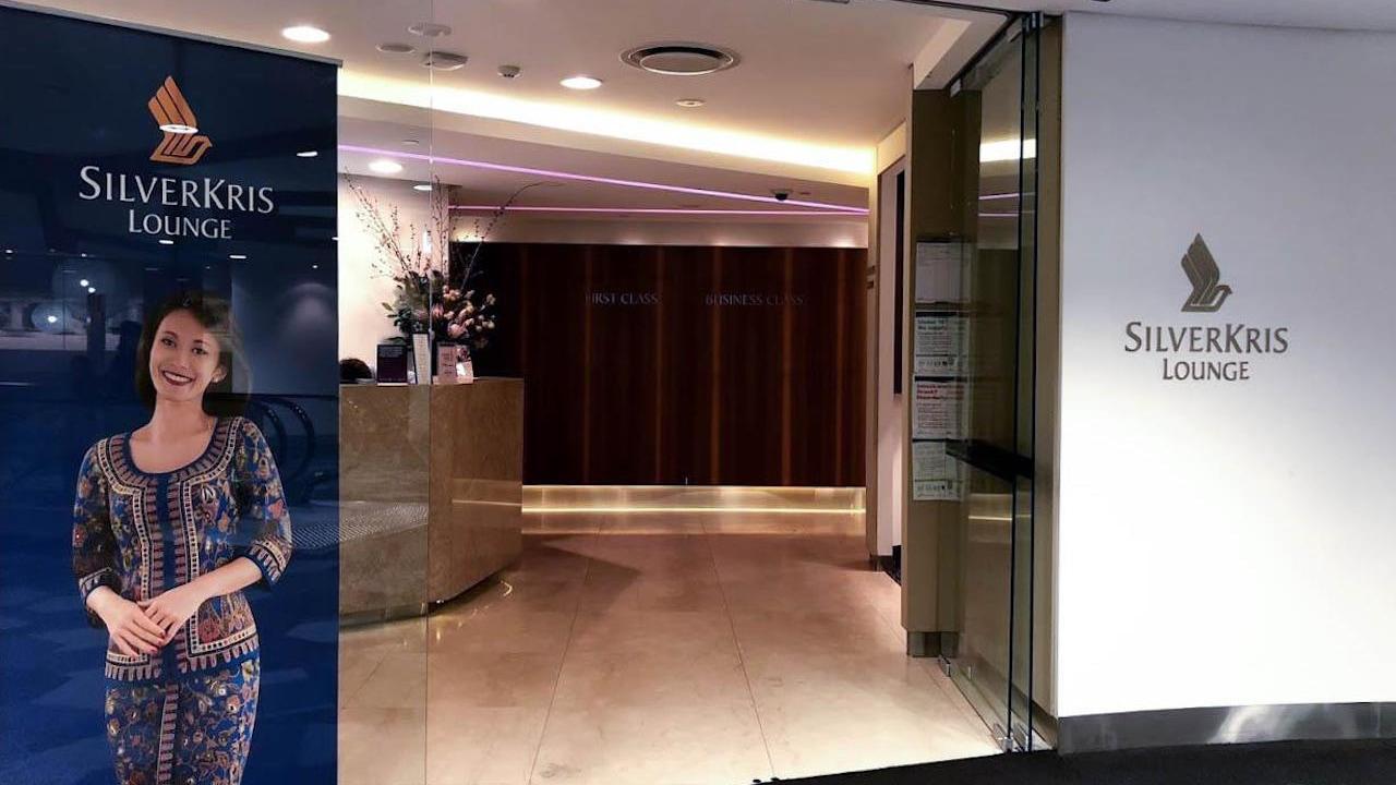 Singapore Airlines SliverKris Lounge Melbourne
