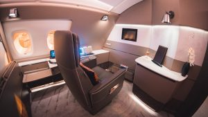 Singapore Airlines A380 (new) First Class Suites overview