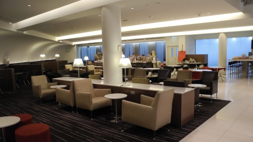 Qantas International Business Lounge Melbourne
