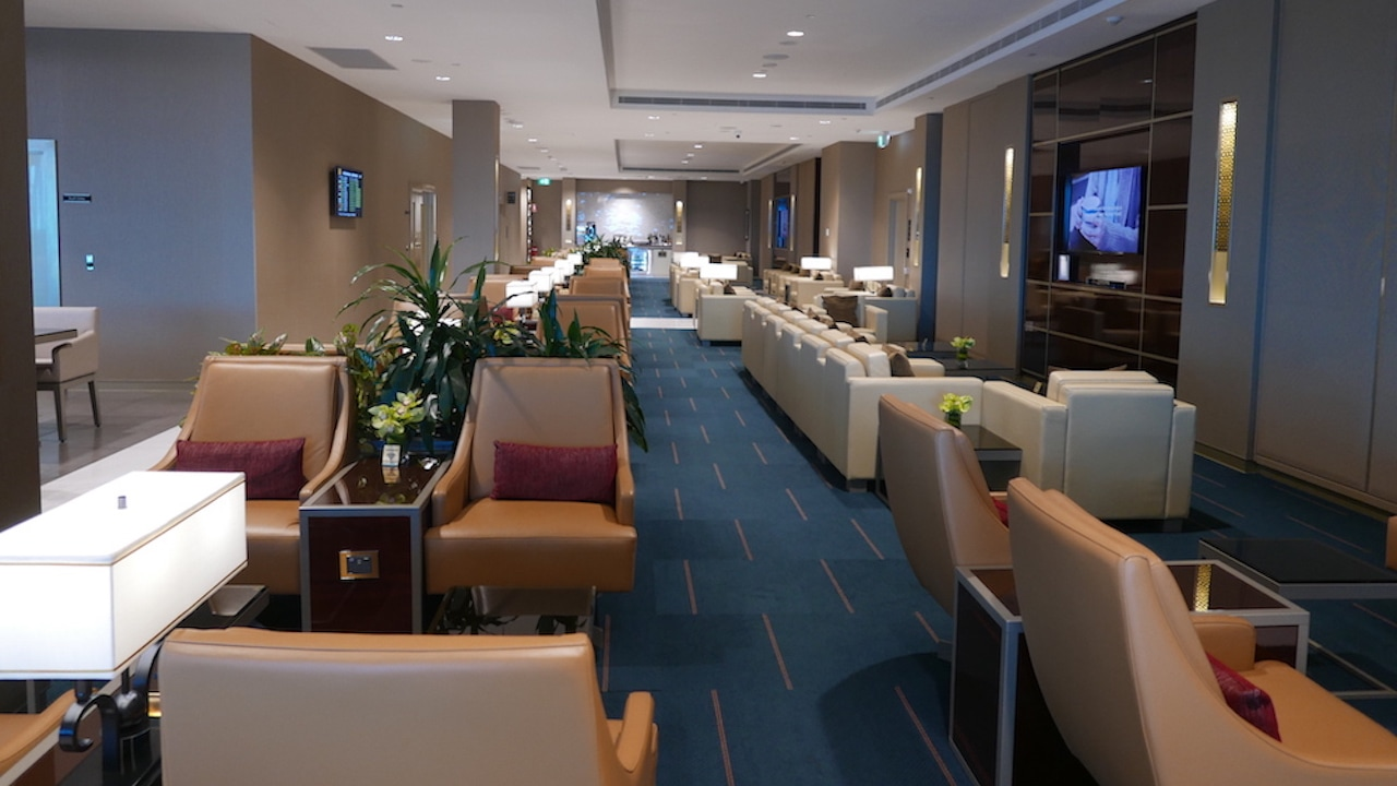 Emirates Business and First Class Lounge Melbourne