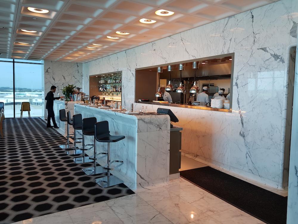 Qantas First Class Lounge Melbourne