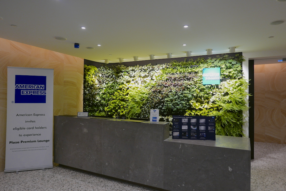American Express Lounge Melbourne