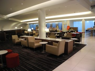 Qantas International Business Lounge Melbourne overview