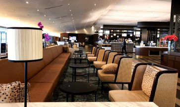 Malaysia Airlines Satellite Golden Lounge Kuala Lumpur overview