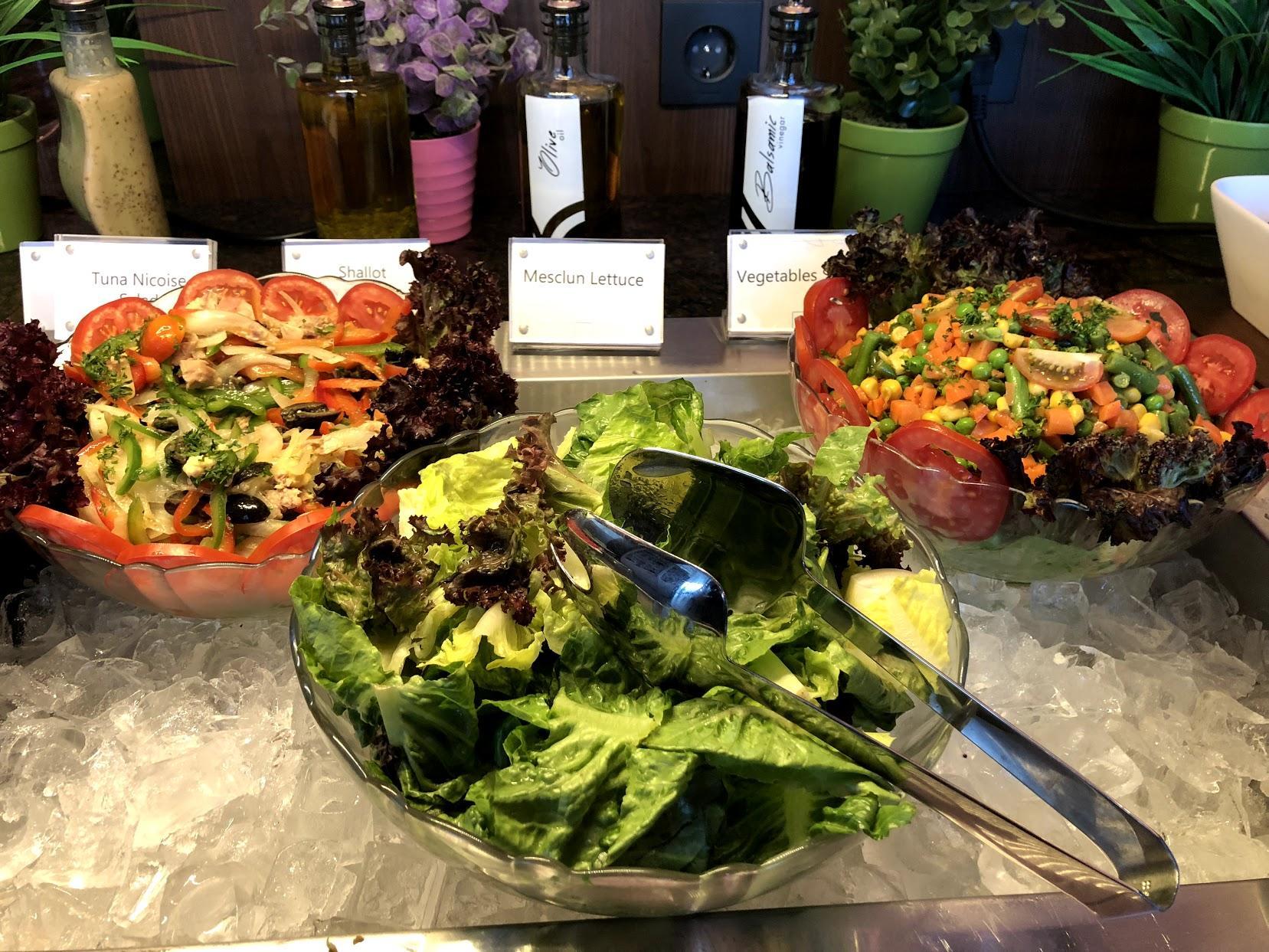 Plaza Premium Saphire Lounge Jakarta food