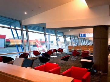 Qantas Club Sydney overview