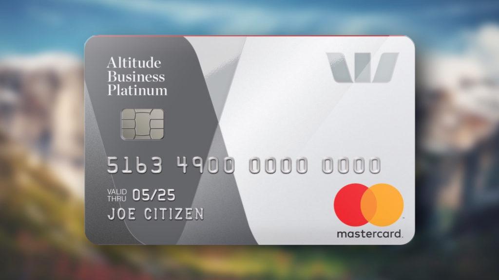 Westpac Altitude Business Platinum